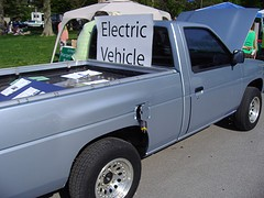 Homemade Electric Truck