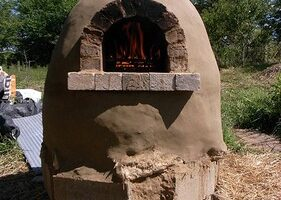 Build Your Own Outdoor Pizza Oven For $20