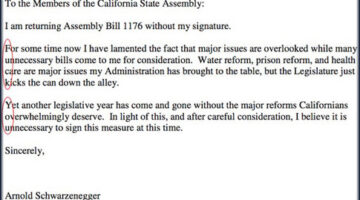 Schwarzenegger Drops the Eff Bomb In A Secret Code To Cali Legislature