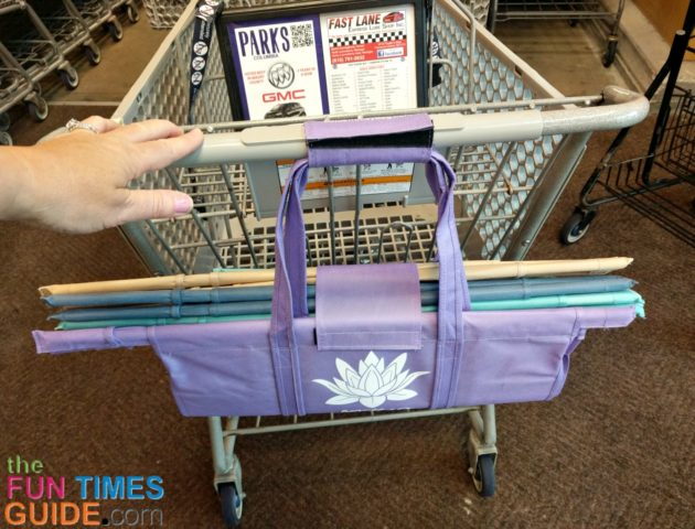 I Finally Found The Best Reusable Grocery Bags: Lotus Trolley Bags Are A Set Of 4 Reusable Shopping Bags That Fold Into Themselves For Easy Carrying & Storage!
