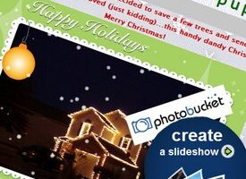 How To Make a Free Christmas eCard Slideshow