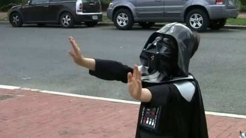 Darth vadar kid