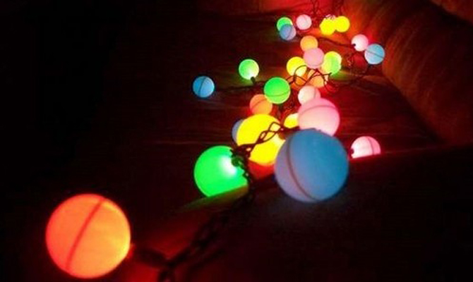 diy party lighting. fun and simple diy diffused party light project the green living guide diy lighting