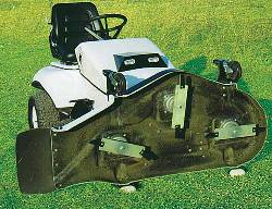 Exclusive Details of THE Electric Riding Mower: The Electric Ox