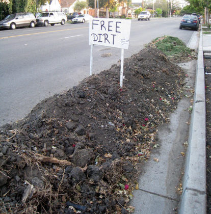 Free dirt is easy to find IF you know where to look. Here's a list of the best places to start!