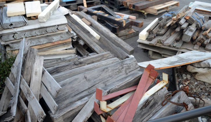 If you want free materials for your DIY projects -- such as wood -- here's a list of places to check with!