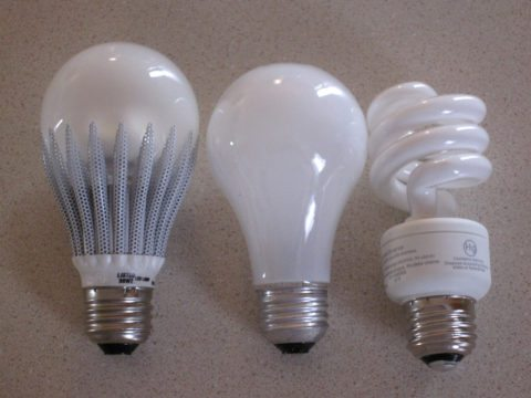 LED Lights Light Bulb Types