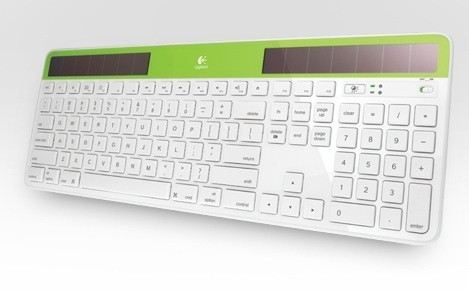 logitech k750 wireless solar keyboard for mac users