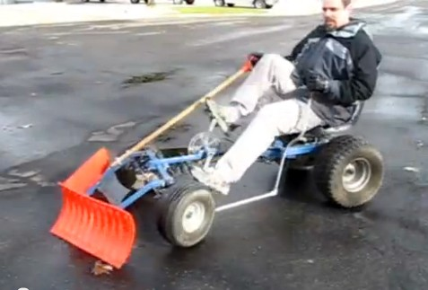 pedal-powered-snow-plow