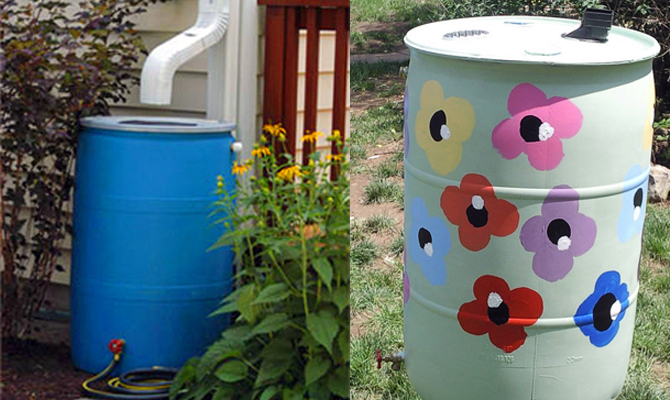 3 Ways Under 10 To Make A Rain Barrel The Green Living Guide