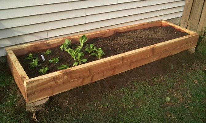 Landscaping Diy Guides : Easy diy raised bed garden the green living guide