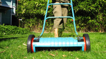 See Why An Old-Fashioned Push Reel Mower Is A Great Eco-Friendly Alternative For Mowing Your Lawn