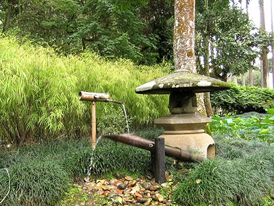 6 fun diy projects using bamboo fun times guide to living green - Shishi odoshi bamboo water feature ...