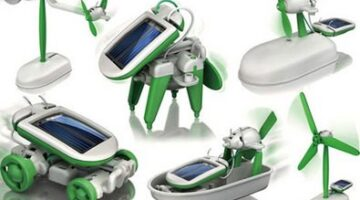 Solar Powered Transformers: Check Out This 6-in-1 Solar Powered Transforming Toy