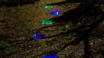 How to Make a Solar-Powered LED-Lit Walkway