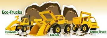 Toxin-Free Loaders & LED Dozers: Perfect Toys For Every Boy