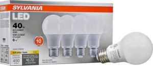 sylvania a19 led lightbulbs