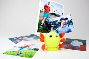 Easy DIY Tennis Ball Photo Holder & Tennis Ball Can LED Lantern