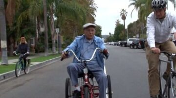 103-Year-Old Cyclist May Be World's Oldest