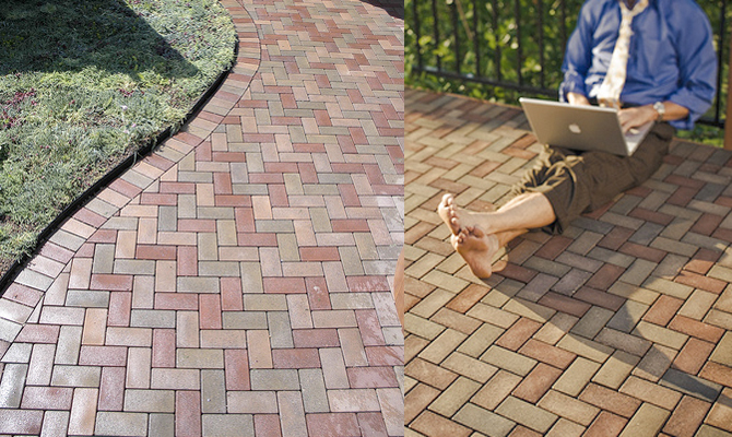 Vast Pavers Eco Friendly Composite Pavers Made From