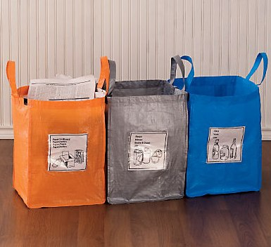Gaiam Foldable Recycling Bags Jpg