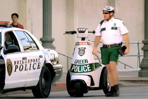 Audi S Funny Quot Green Police Quot Super Bowl Commercial Debuts
