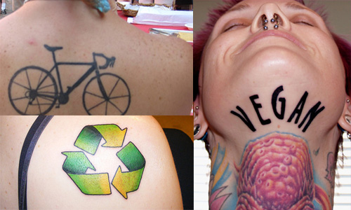 Eco Friendly Tattoos From Eco Themed To Under Skin Touchscreen