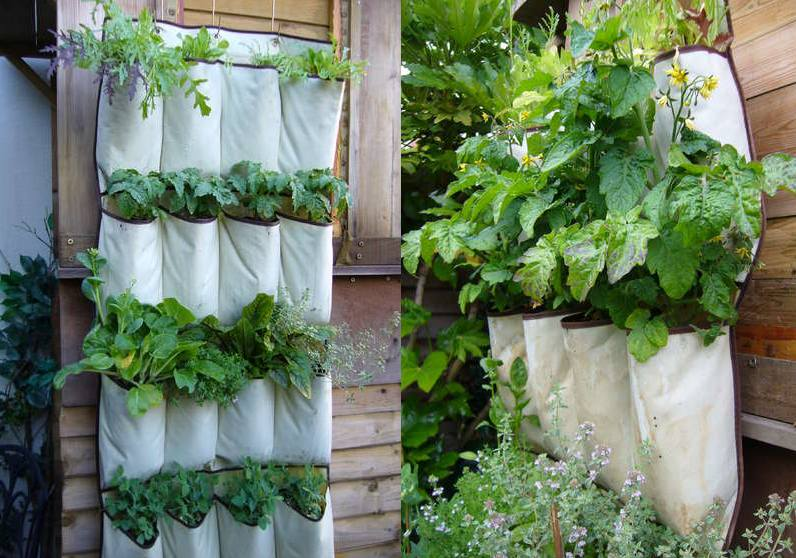 4 Amazing Vertical Garden Designs For Growing Veggies In Any Space ...