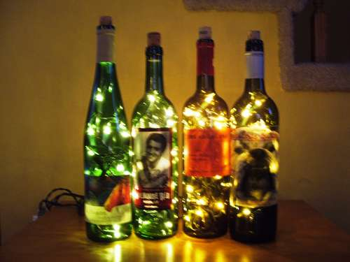 DIY Ideas for Empty Wine Bottles…Because the Fun Doesn't Stop